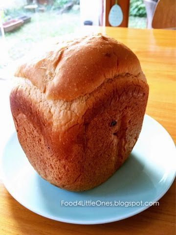 {Breadmaker Recipe} Soy Milk Bread 面包机食谱:豆奶面包 | Food, Baby ...