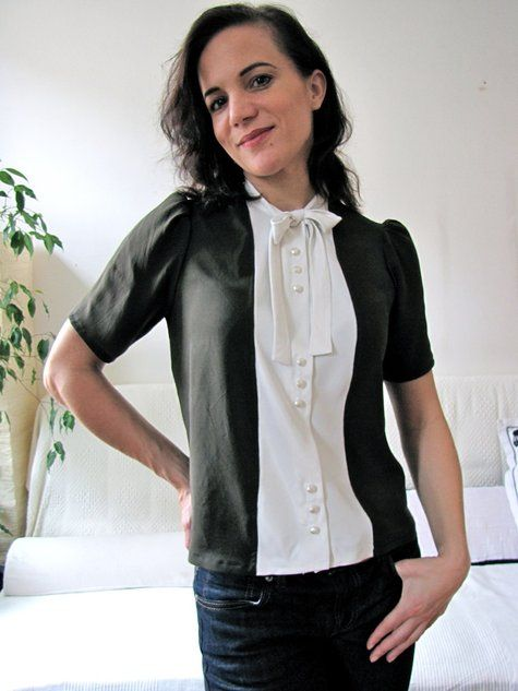 1940's Re-fashioned Blouse!