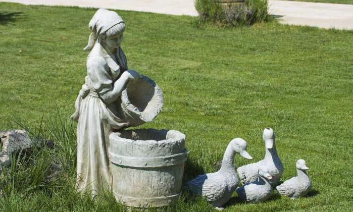 Скульптура из бетона бетона купить в сургуте
