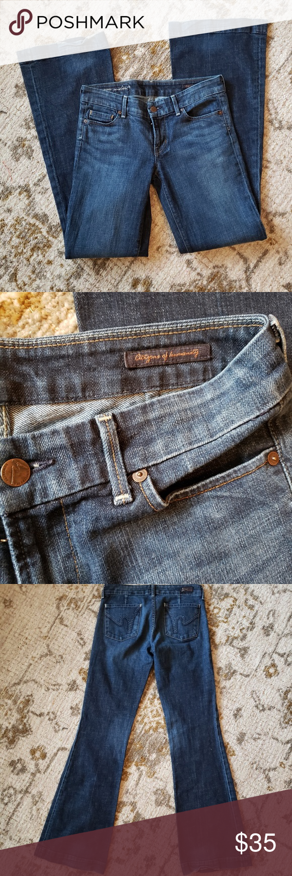 Citizens of Humanity denim Jeans Dunaway stretch Gently loved condition, hardly any wear. These are fabulous! Citizens of Humanity