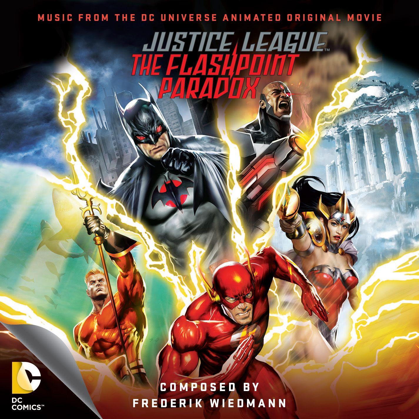 Justice League The Flashpoint Paradox Soundtrack Cover Original Score By Frederick Wiedmann Buy Http Lala Ponto De Ignicao Filmes De Animacao Paradoxo