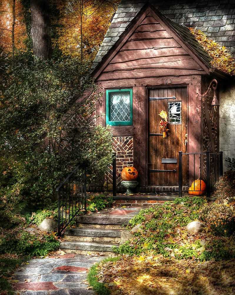 I dream of having a quaint little cottage away from the city where I can enjoy the quiet of nature and be at peace. How I would design it, however, is not something that I can decide on within a specific style. This blog shows the wide range of ideas that appeal to me. Click the images for larger view, or click notes to open the full post. You can visit my other collections via the link on the menu bar. ♈ | ♊ • Rhaevyn Hart • #witchcottage