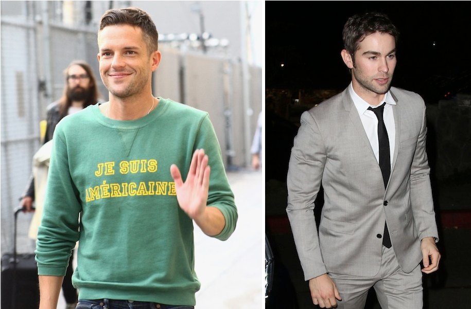 The Killers Brandon Flowers Left Diggin The Hair Mens Style