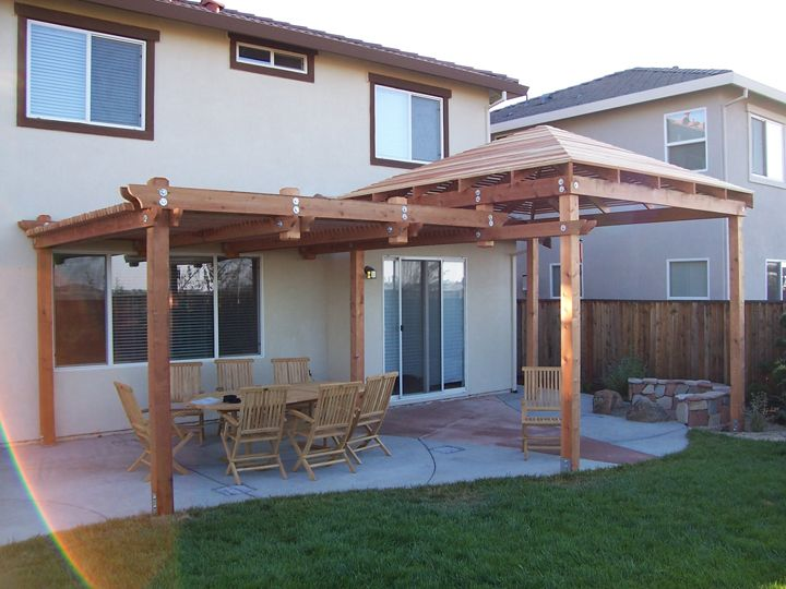 Wooden Cover For Patio Patio Cover Projects Wood Patio