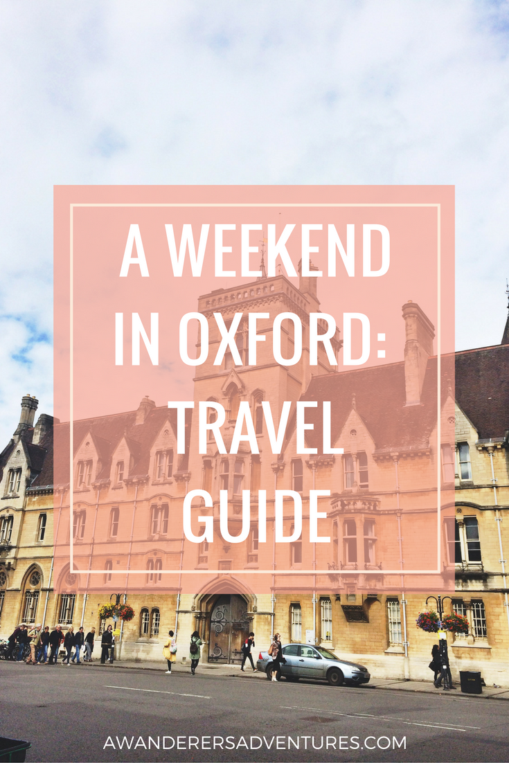 whats on in oxford this weekend