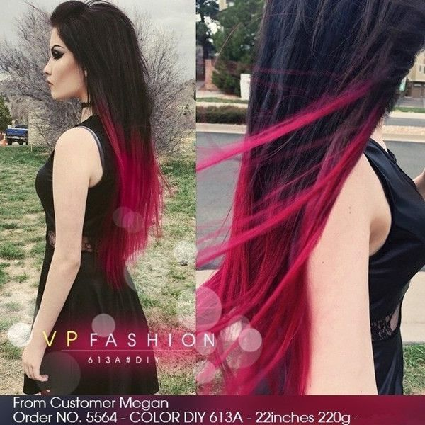 DIY 2015 summer your personal hair color the red ombre for dark ...