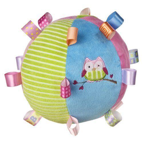 Taggies Oodles Owl Plush Chime Ball by Taggies, http://www.amazon.com/dp/B007F5PTPY/ref=cm_sw_r_pi_dp_6Ebqqb00AZE9W