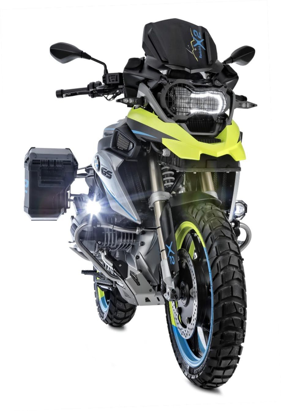 Wunderlich Adds Electric 2wd System And Reverse Gear To A Standard Bmw R1200gs Bmw Adventure Bike Bmw Motorcycles Adventure Bike Motorcycles
