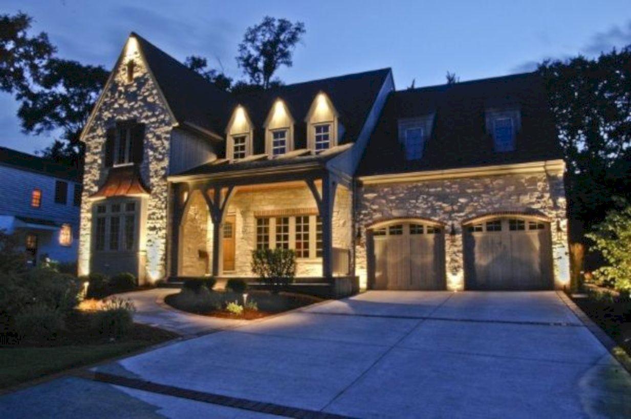 49 Affordable Landscape Garden Lighting Ideas Landscapelightingdesign Garage Beleuchtung Beleuchtung Aussenbeleuchtung Haus