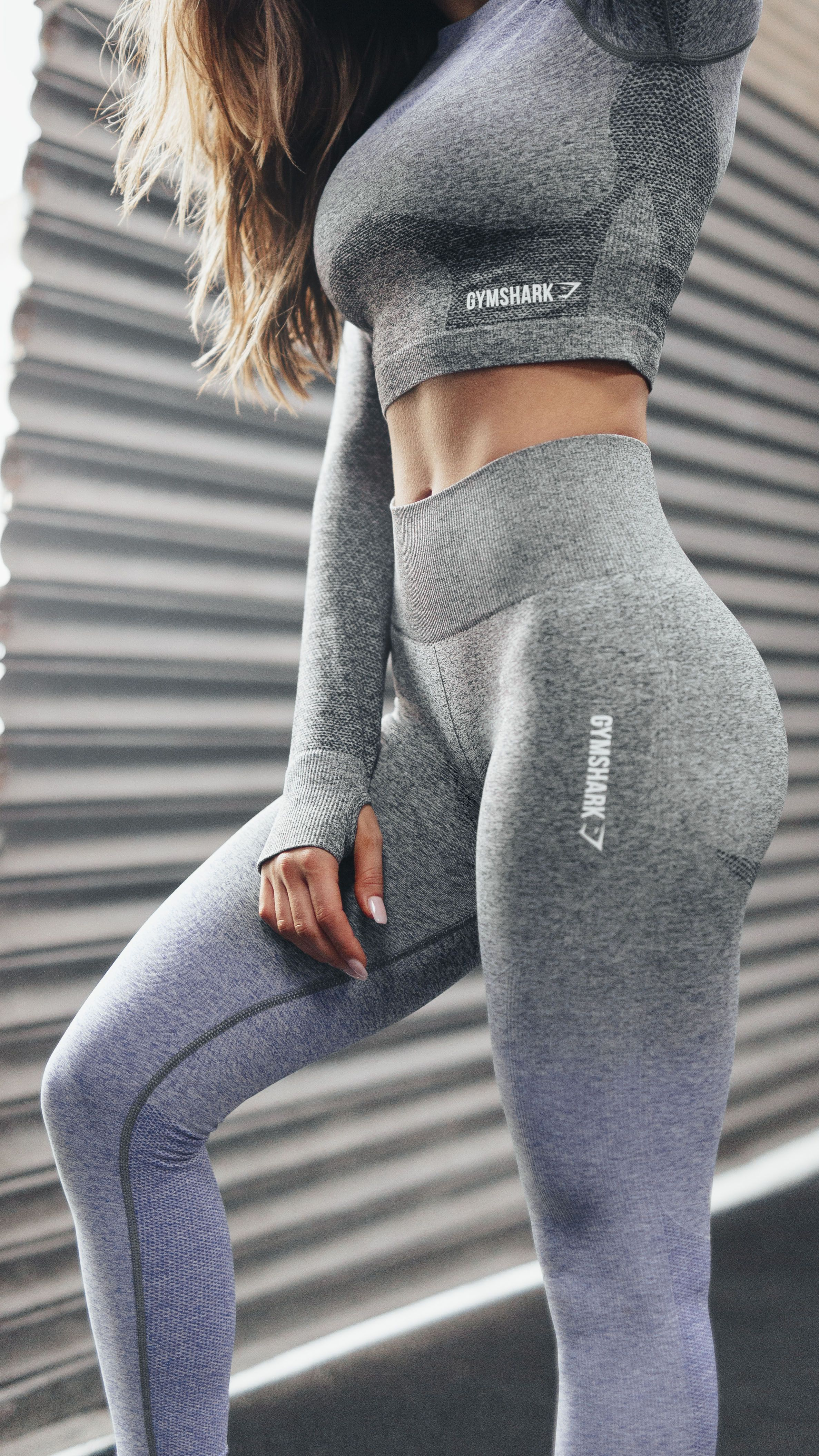 c9aff10f30de9 The Gymshark Ombre Seamless' soft stretch fabric provides a close, yet  comfortable physique-enhancing fit. Coming soon in Indigo and Black.