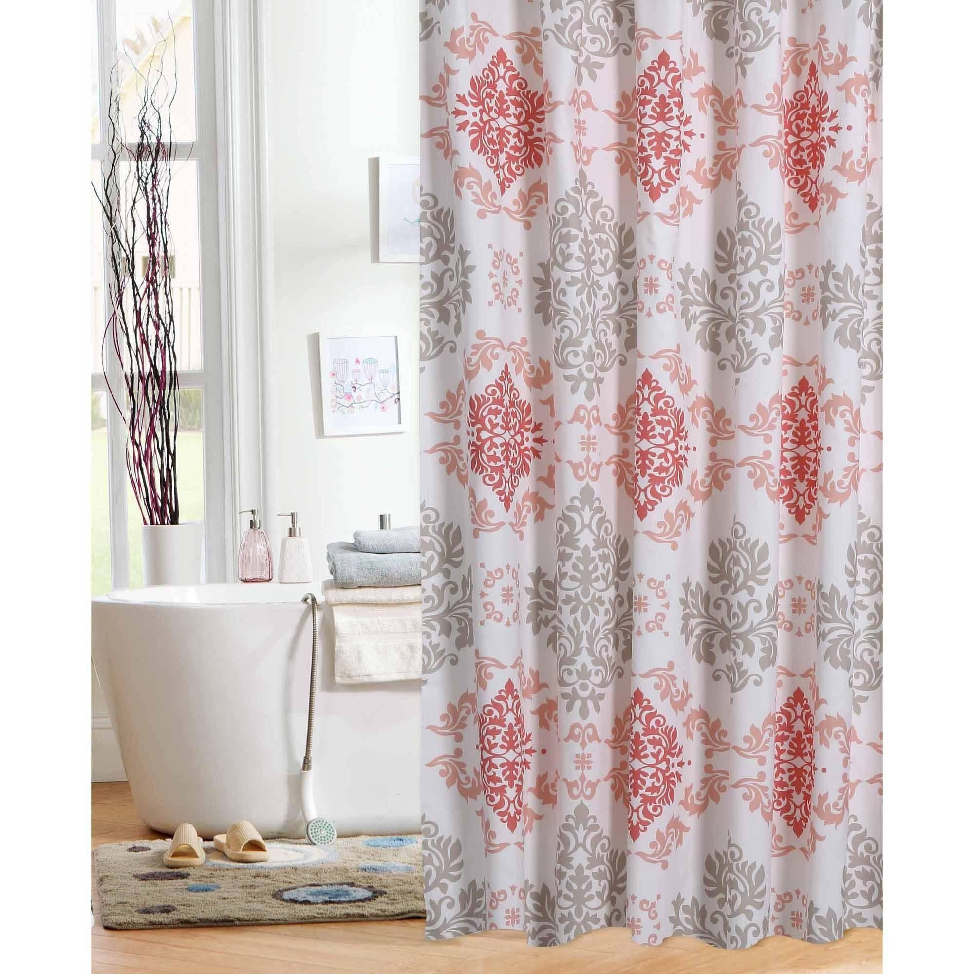 Elegant Pink Cheetah Shower Curtain
