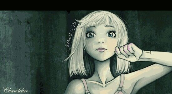 Sia chandelier maddie zidgler if you could be any cartoon sia chandelier maddie zidgler aloadofball Image collections