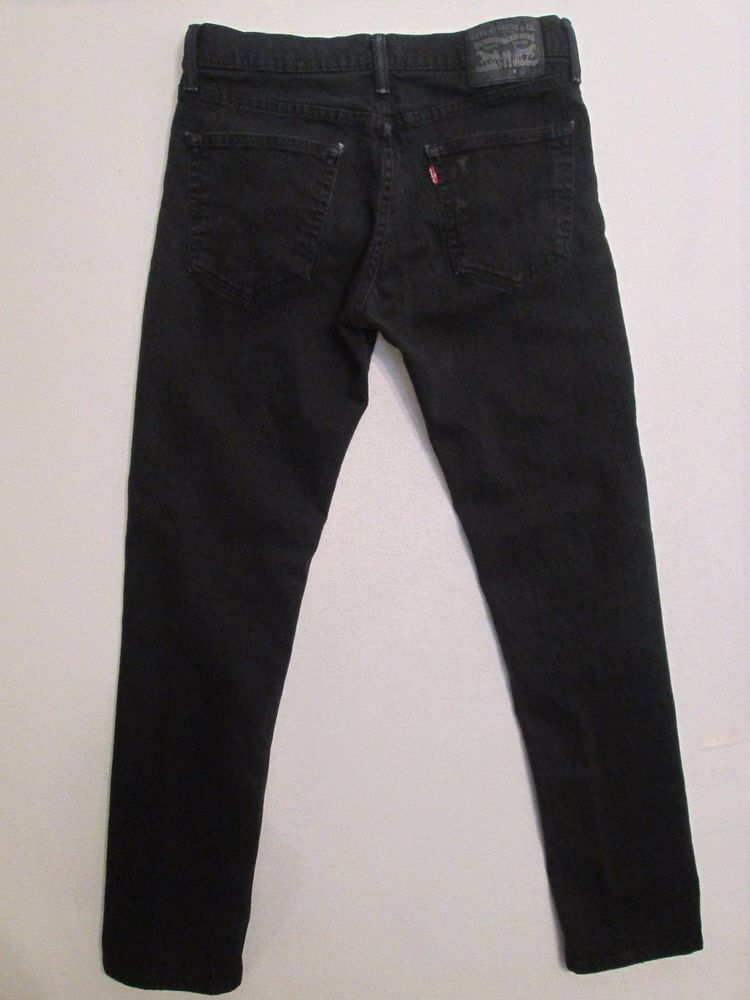 460cd4e53c4 Levi Strauss & Co. 511 Black Label (Black) Skinny Jeans 32X32 Meas. 32X31.5  #973 #LeviStraussCo #SlimSkinny