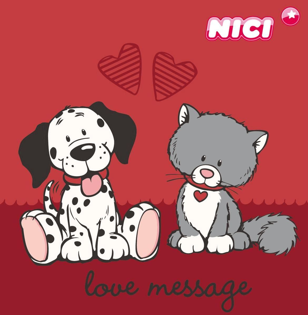 nici love message happy valentine s day animaletti pinterest messages clip art and. Black Bedroom Furniture Sets. Home Design Ideas