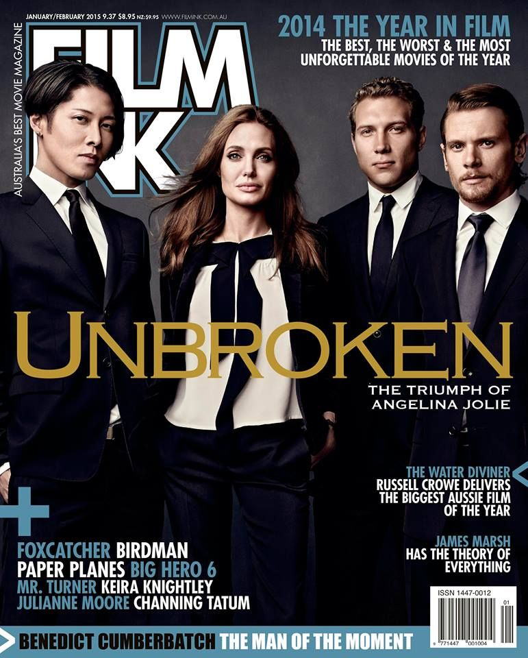 Get Filmink Covers Angelina Jolie Jai Courtney Miyavi