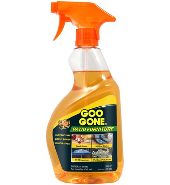 Delightful This Goo Gone Patio Furniture Cleaner Makes It Easy To Clean Outdoor  Furniture And Is Safe To Use On Wicker Wood Plastic And More.