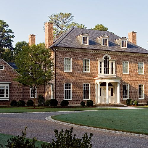 Southern Style Defined Georgian Architecture Georgian Style Homes Mansions