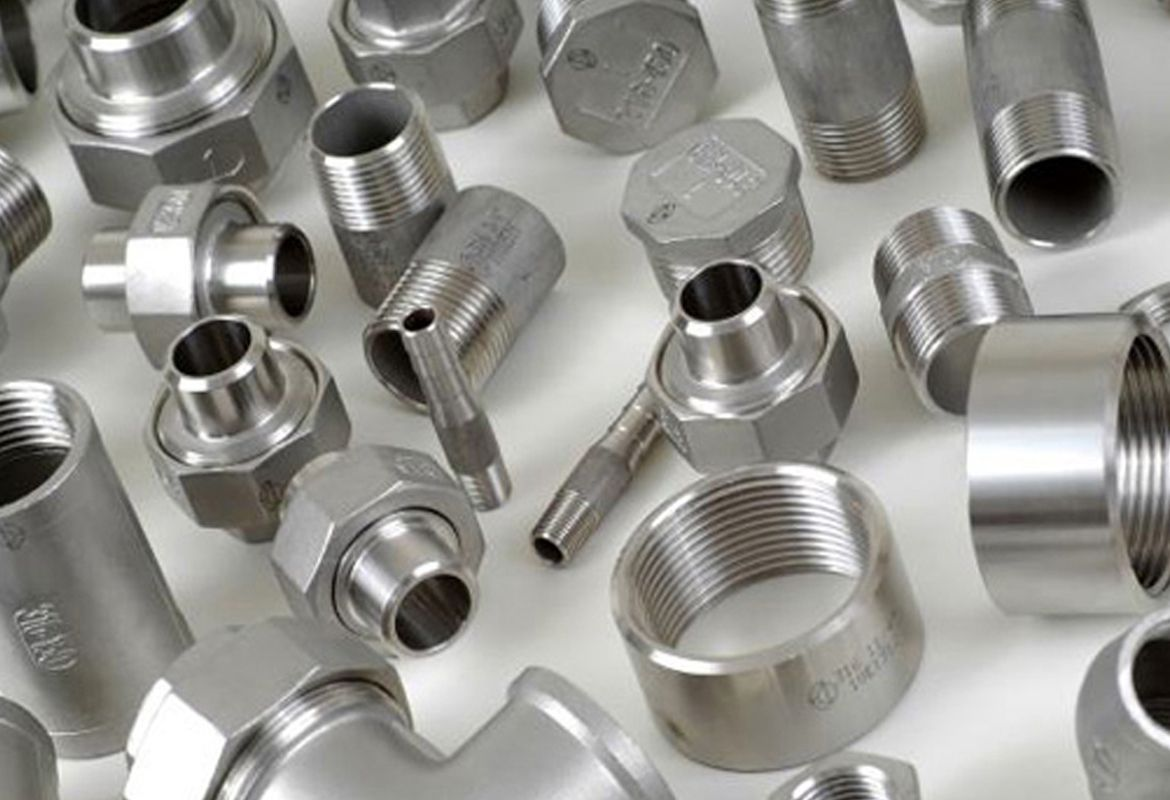 Pin on nickel alloy fittings