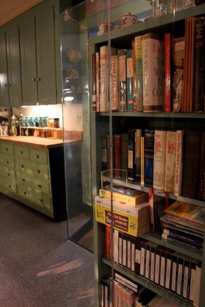 I Want To Have A Bookshelf In My Kitchen Just Like Julia Child
