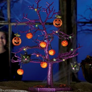 This Tree Will Make your Halloween Party Something Special