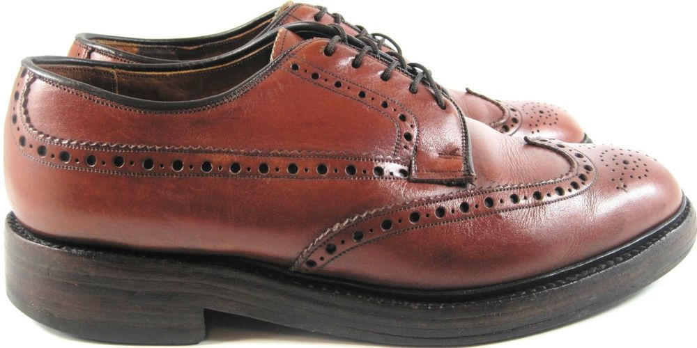 discover latest trends stable quality competitive price Details about Lefcourt Men Leather Wing Tip Shoes Size 8.5 ...