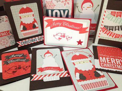 Hilos de Azúcar - Tarjetas Navideñas hechas a mano Christmas time