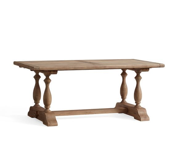 Parkmore Reclaimed Wood Extending Dining Table Dining Table
