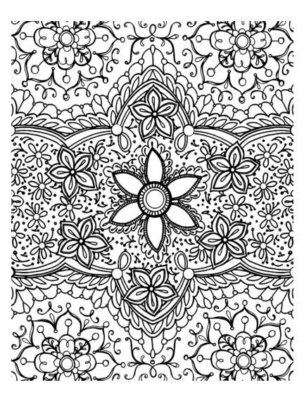 Annie S Coloring Pages On Cardmaker Zentangles Adult Colouring