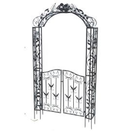 porte portail de jardin arche rosier plante grimpante pergola tonnelle tour de porte portillon. Black Bedroom Furniture Sets. Home Design Ideas