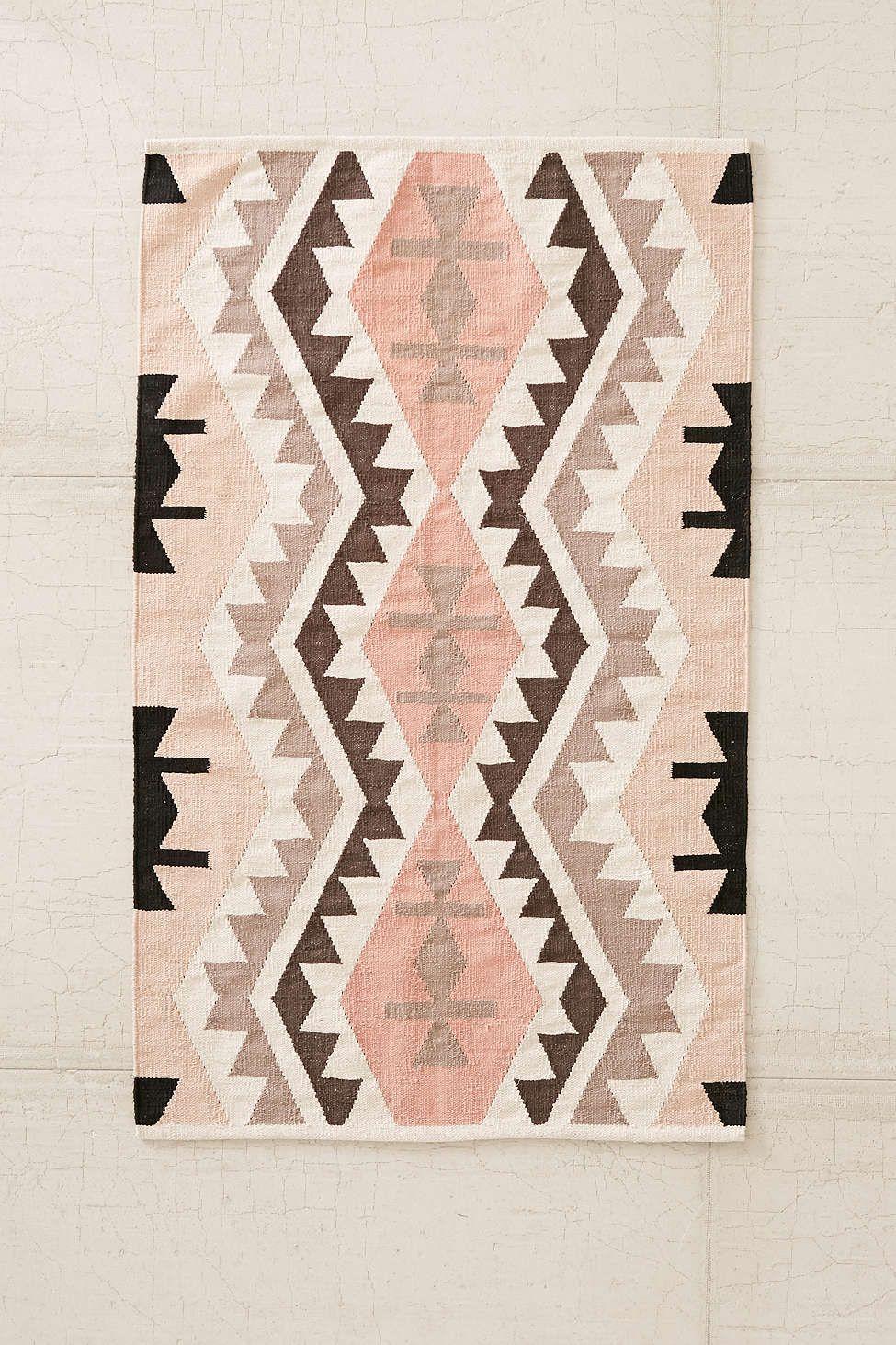 Plum & Bow Samarkand Kilm Rug  Urban Outfitters  #uohome Inspiration Southwestern Bathroom Rugs Design Inspiration