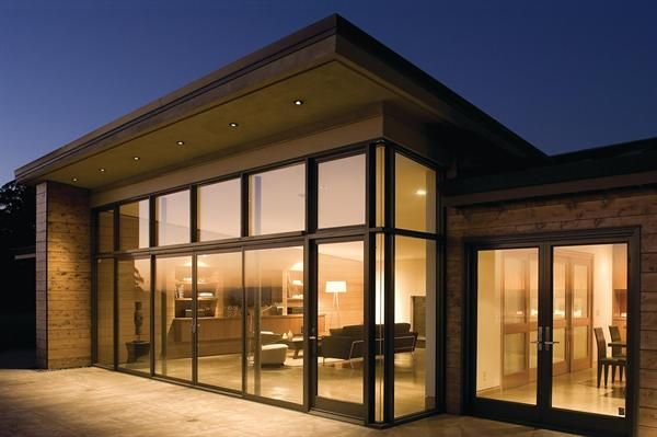 I want big open windows like this in my backyard.