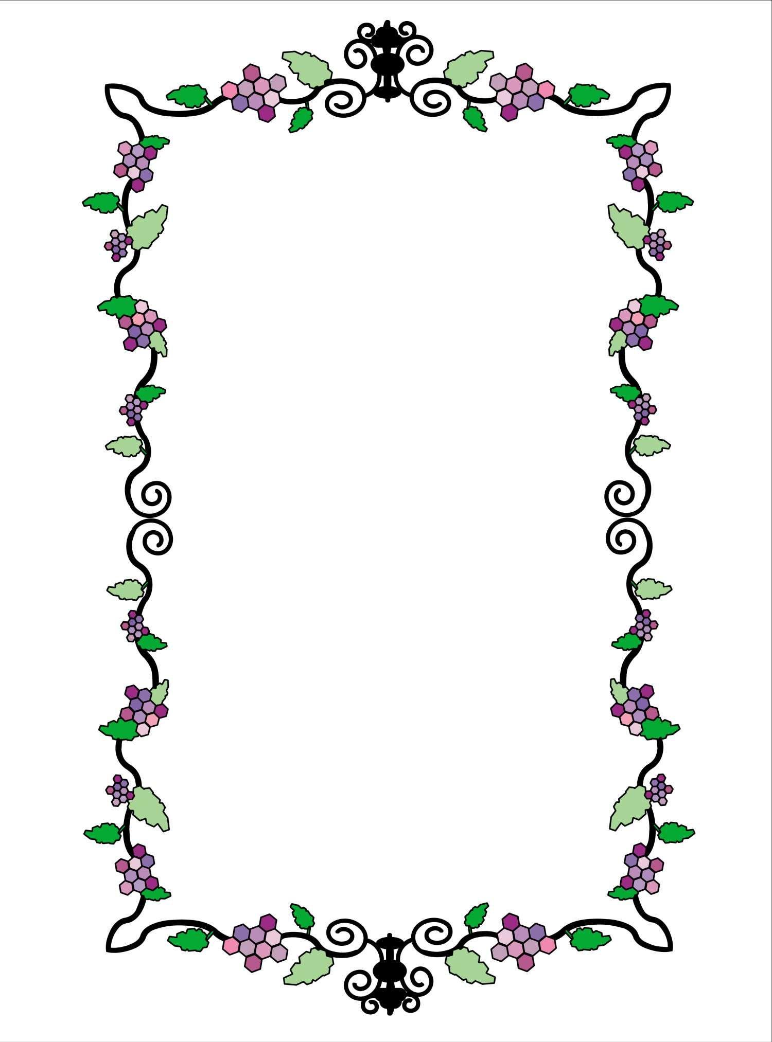 Pin von I T auf Borders/Frames - Flowers | Pinterest