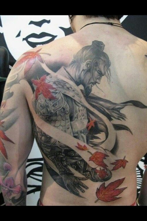 ronin tattoo i want something like this on my back art of the anatomy pinterest more. Black Bedroom Furniture Sets. Home Design Ideas