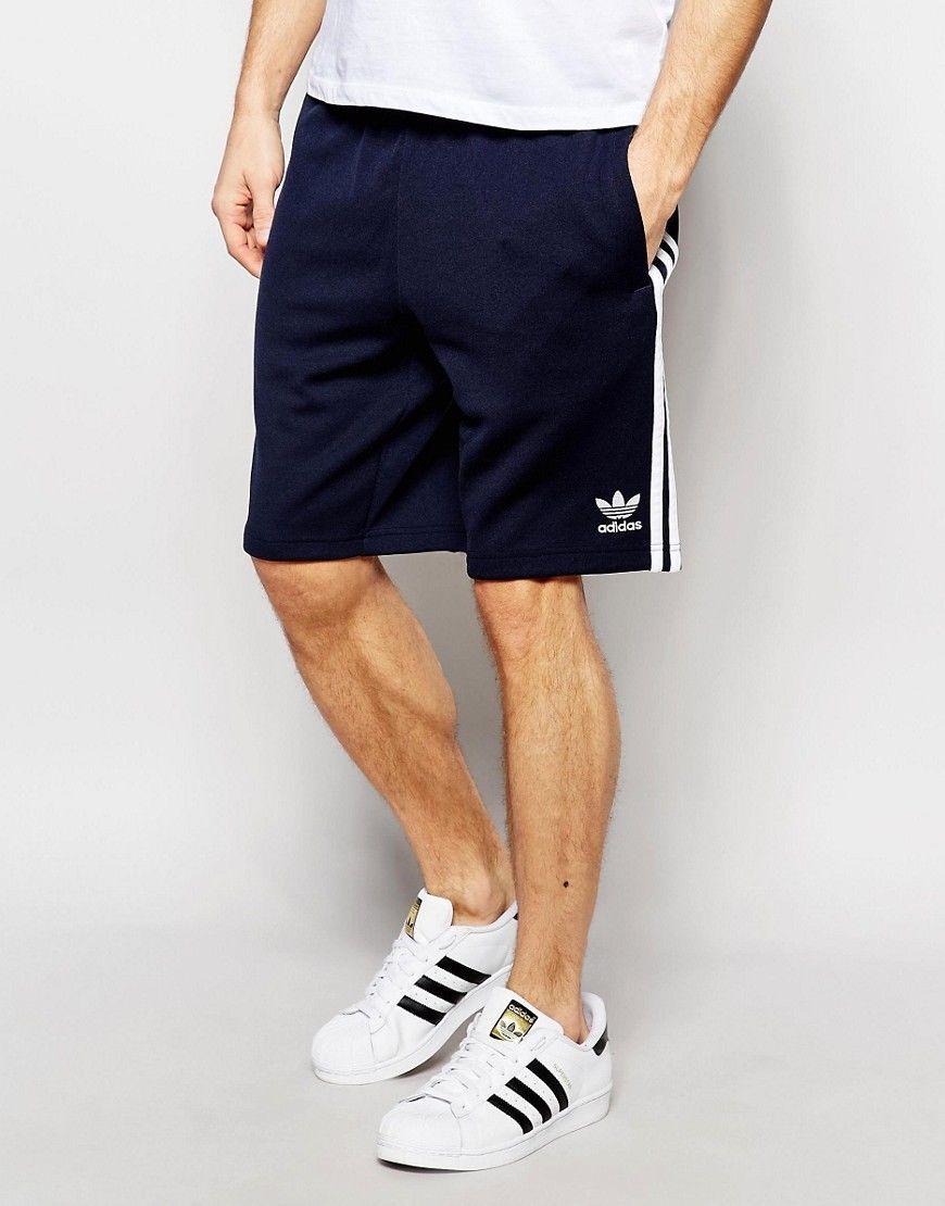 grandi uomini di adidas originali superstar traccia short aa1397