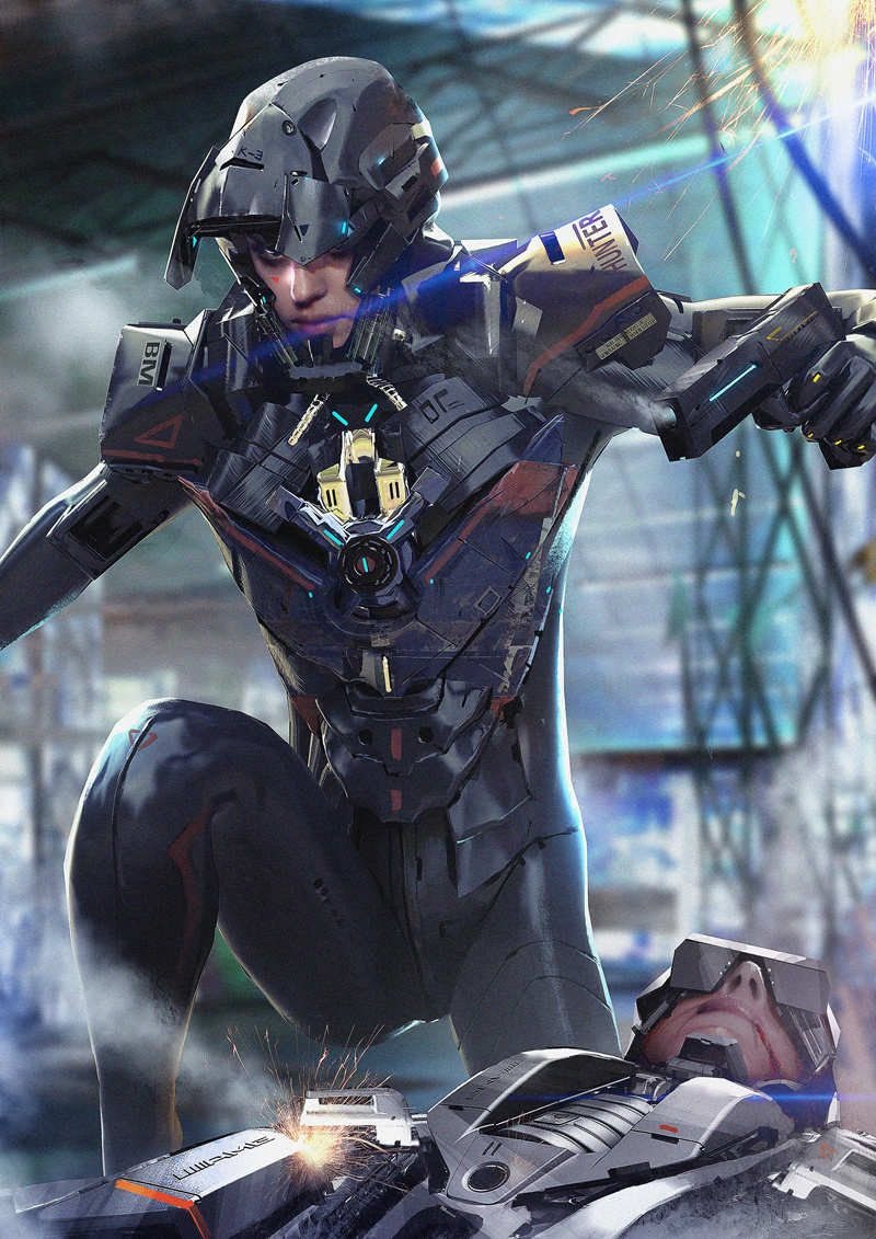 Cyberpunk Artworks - Futuristic