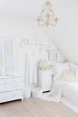 Shabby White   whites   Schlafzimmer weiß, Weiße hütte und ...
