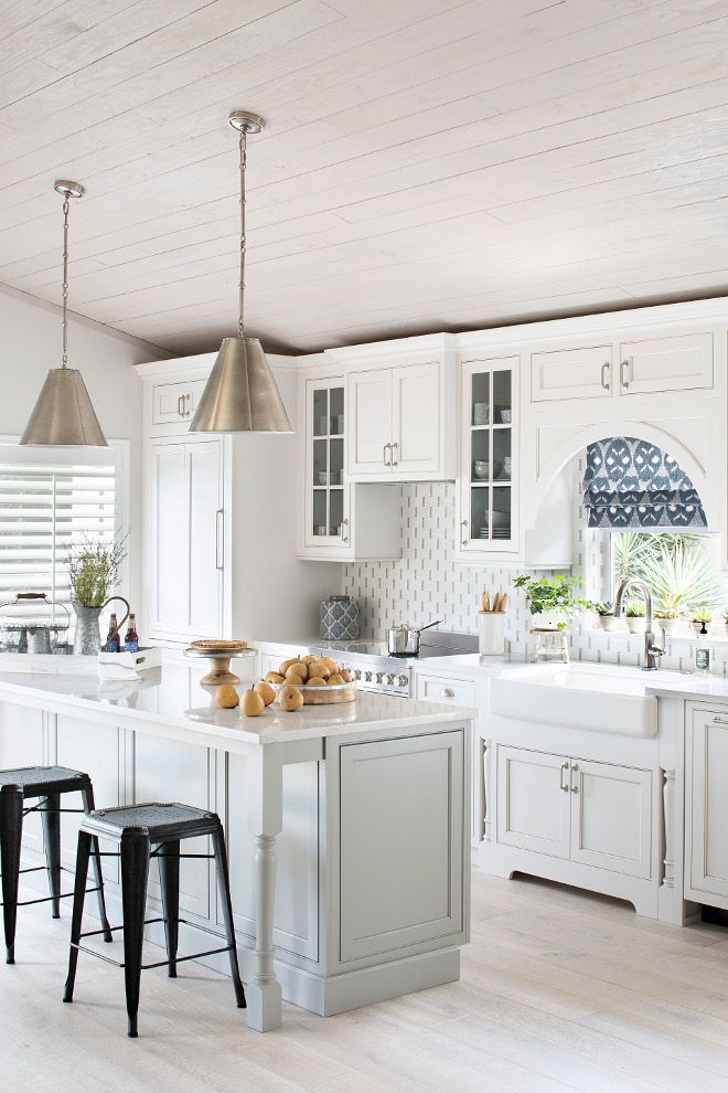 Costal Cottage White Kitchen Coastal Cottage Kitchen Beach