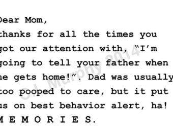 mom birthday mother day happy appreciation pinterest teaching