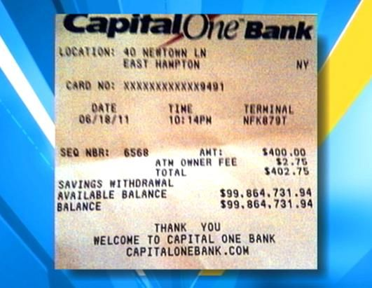 ATM Receipt Shows 100 Million Dollars Daily Postal money Pinterest - best of 10 chase bank statement