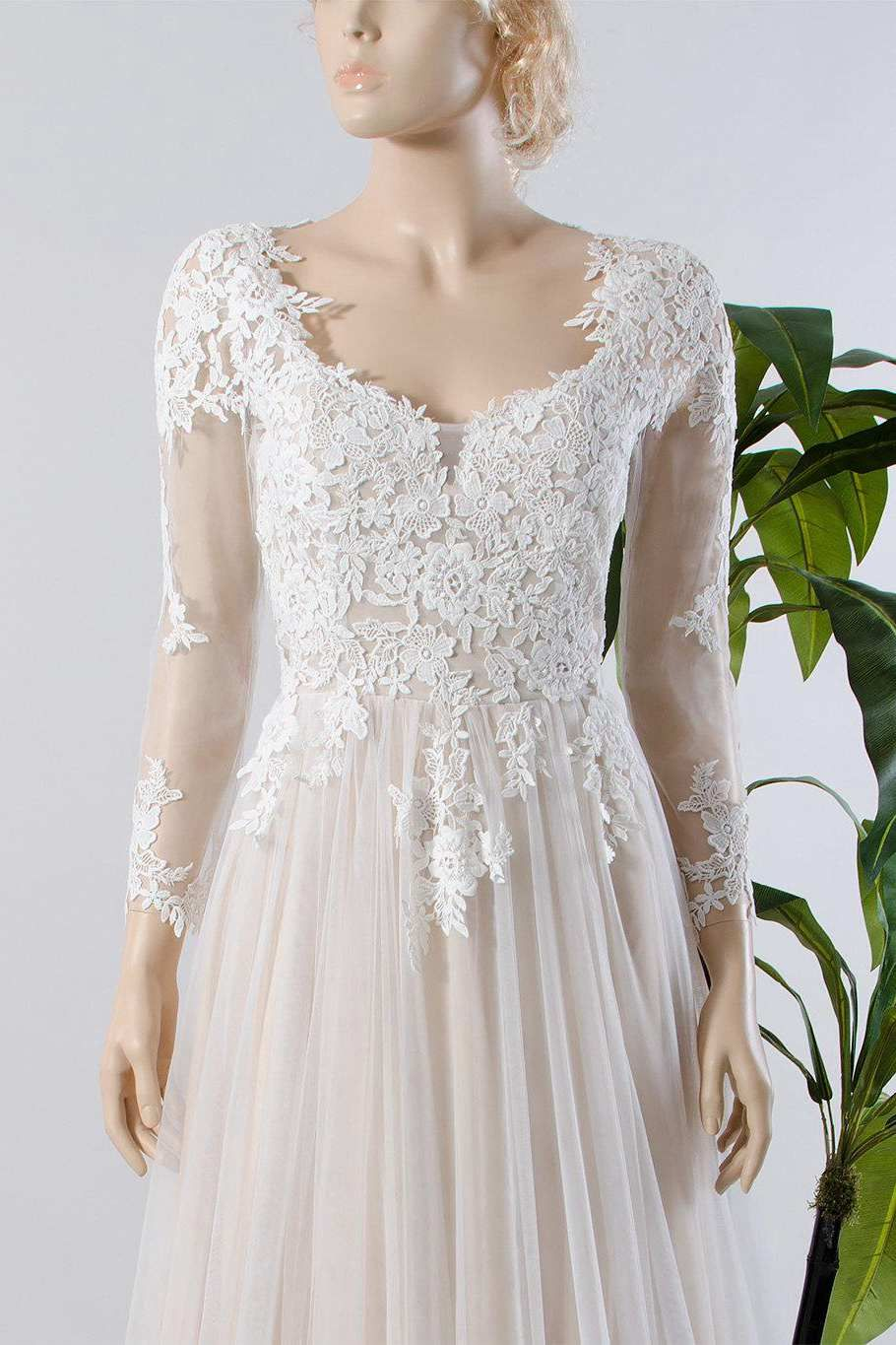 Pin by june bridals on lace wedding dresses style pinterest