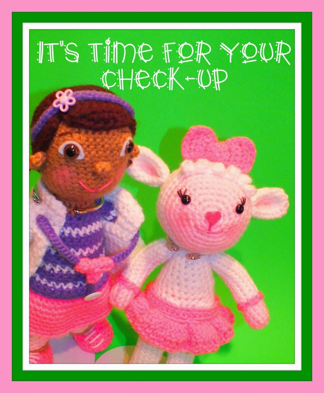 Doc McStuffins and Lambie Inspired Free Pattern© | Crochet | Pinterest