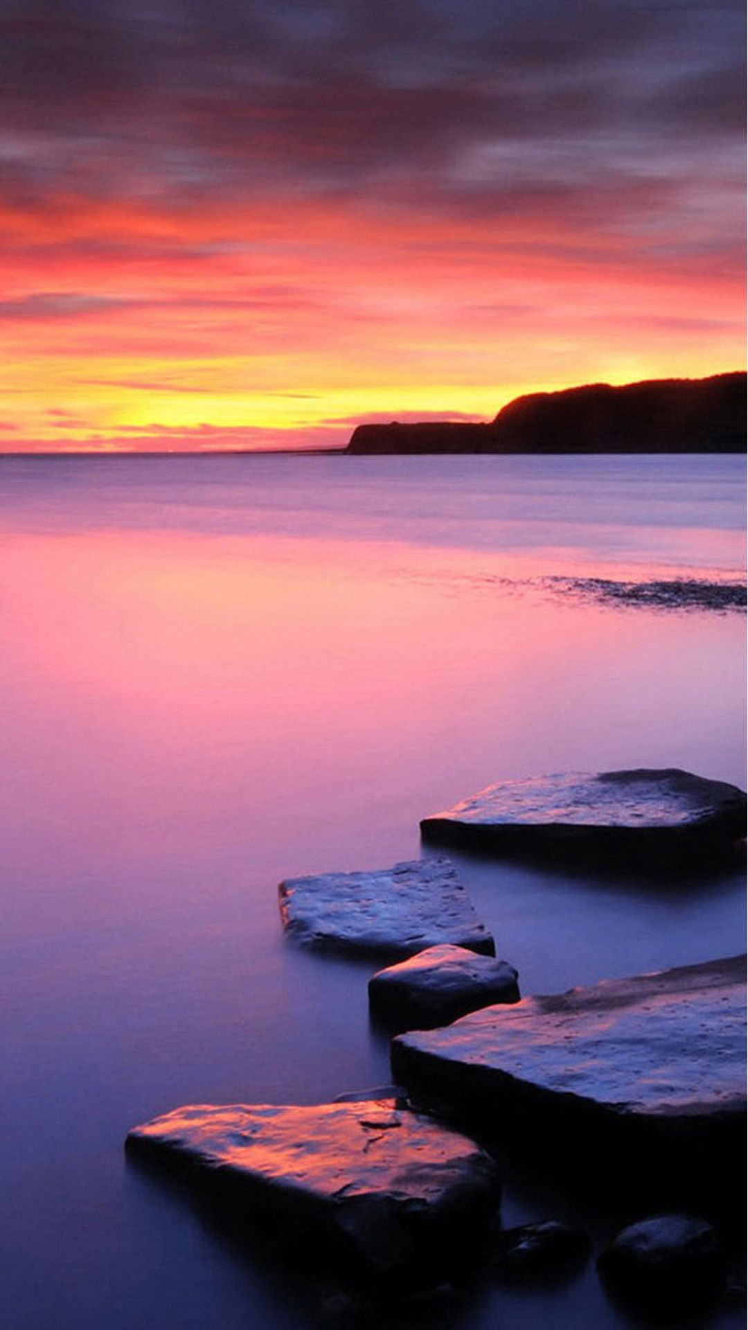 Nature Pure Calm Lake Landscape Iphone 6 Plus Wallpaper Iphone Wallpaper Landscape Sunset Landscape Sunset Wallpaper
