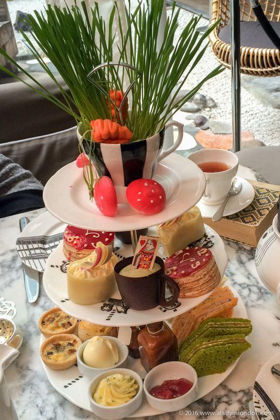 Afternoon Tea At Sanderson London
