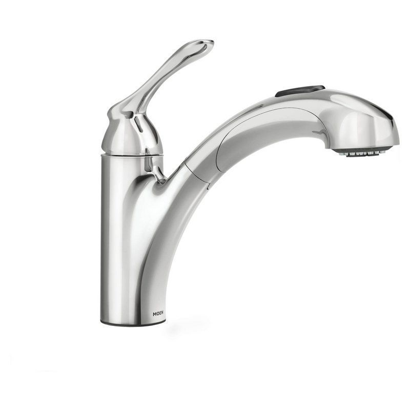 View the Moen 87017 Pullout Spray Kitchen Faucet from the Banbury ...