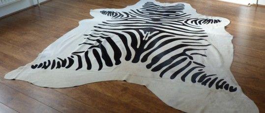 Zebra Print Cowhide Rugs From Www