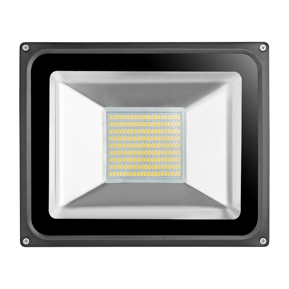 High Quality Ultal Thin 220v 100w Led Flood Light Led Floodlight Spotlight Waterproof Outdoor Wall Lamp Projec Outdoor Wall Lamps Led Flood Lights Flood Lights