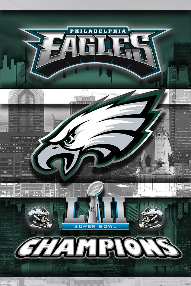 Philadelphia Eagles Super Bowl Championship 2018 Poster Philadelphia Eagles Artwork Eagles Skyline Philadelphia Eagles Super Bowl Eagles Super Bowl Philadelphia Eagles Football