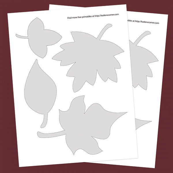 image about Thankful Leaves Printable titled Print No cost Autumn Leaf Practice Cutouts, Greeting Playing cards, Term