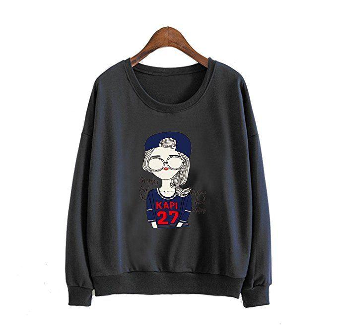 Mr Lin123 - Sweat-shirt - Femme  Amazon.fr  Vêtements et accessoires ... c4fd56e8f94
