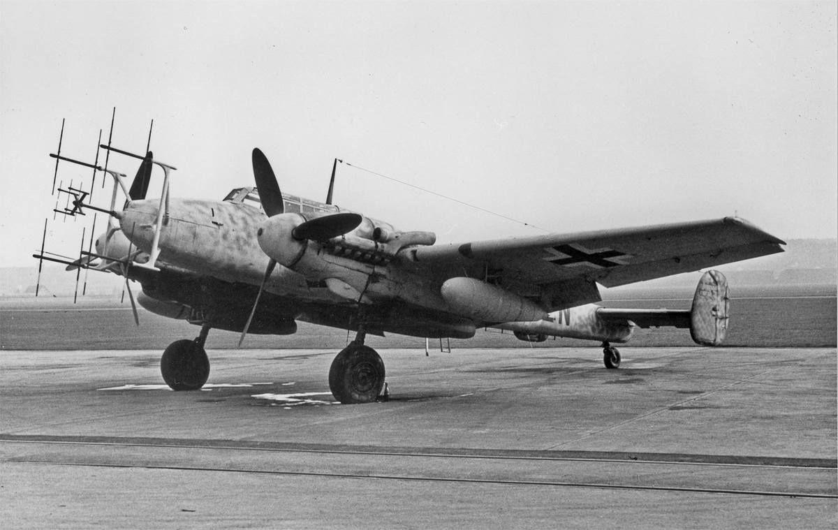 Messerschmitt BF110   NightFight   Pinterest   Aircraft ...